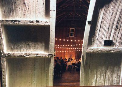 Apple Hill Inn Barn Door