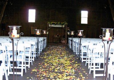 Apple Hill Inn Barn Wedding Ceremony