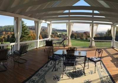 Apple Hill Veranda views