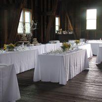 Apple hill inn inside barn wedding set up_from facebook