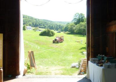 Fire Truck at Wedding