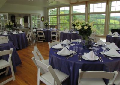 Apple-Hill-Inn-Atrium-wedding-blue-set-up